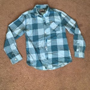 Zoo York plaid shirt size large